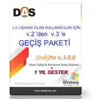 Stok Pro v2-v3 Geçiş Paketi